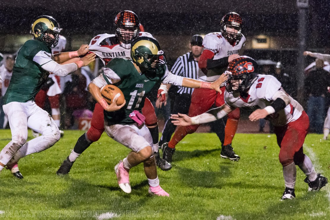 Regis Shuts Out Santiam