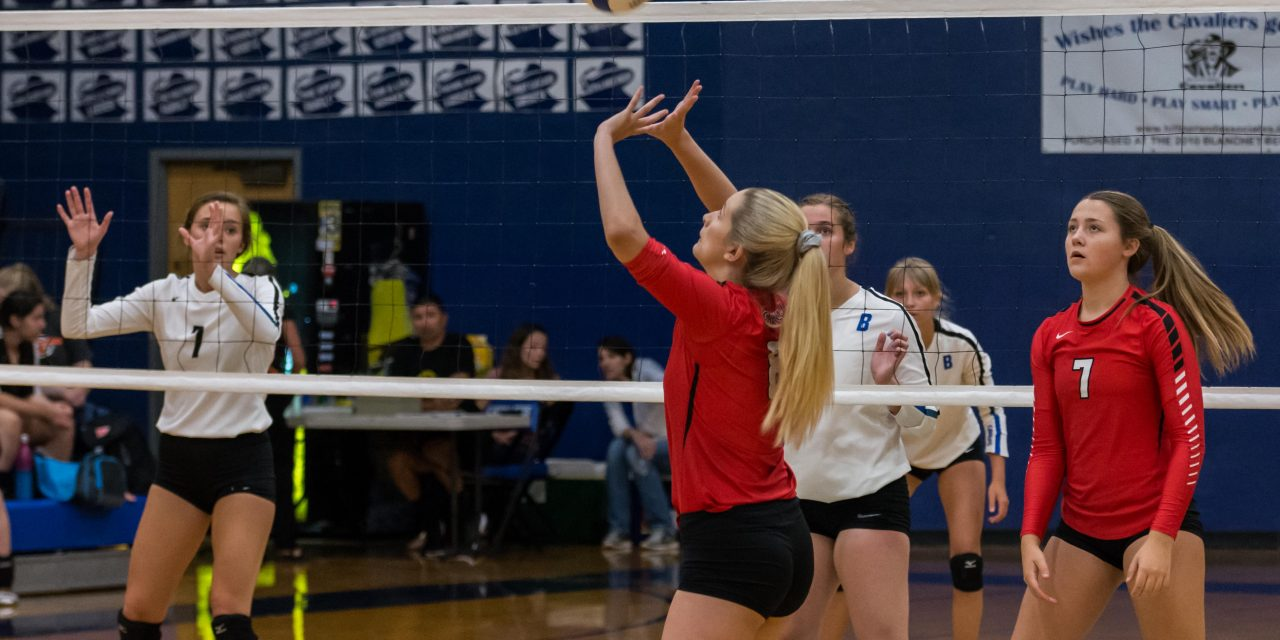 Blanchet Catholic Host Volleyball 3-Way