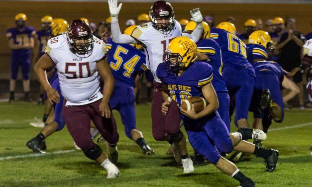 Blue Ridge Picks Up 3A East Win Over The Winslow Bulldogs