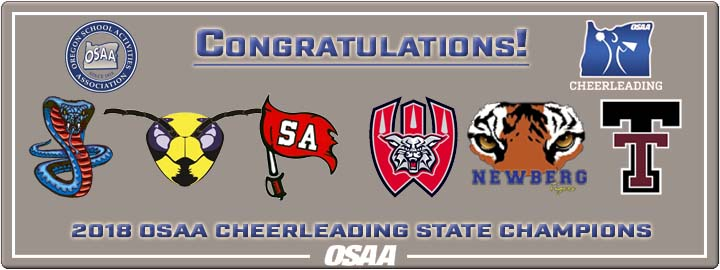 2018 OSAA Cheerleading State Championships – Results