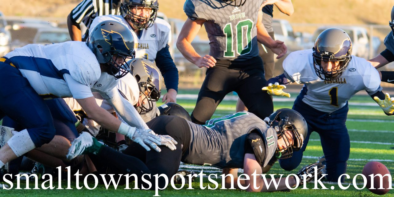 Yoncalla Eagles Pick Up First Season Win Over The Waldport Irish