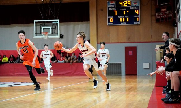 Last Second Shot Pushes Siletz Warriors Over Mohawk Mustangs