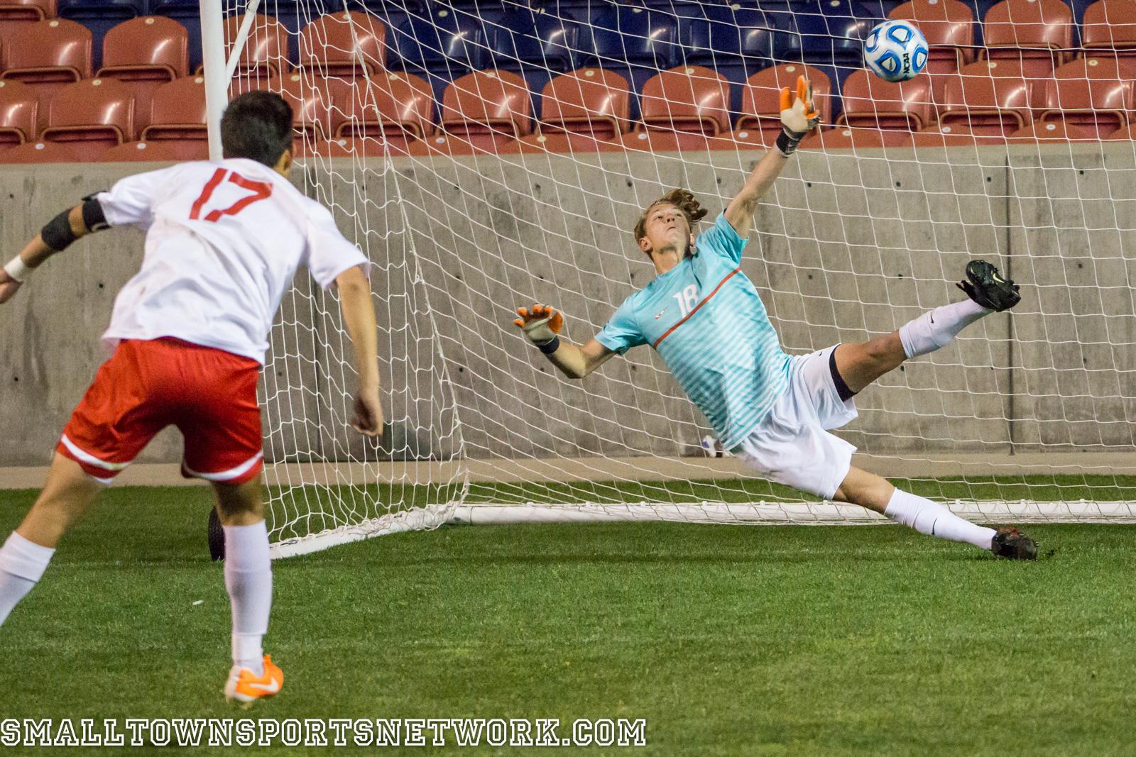 Skyline Defeats East On Freshman Kick