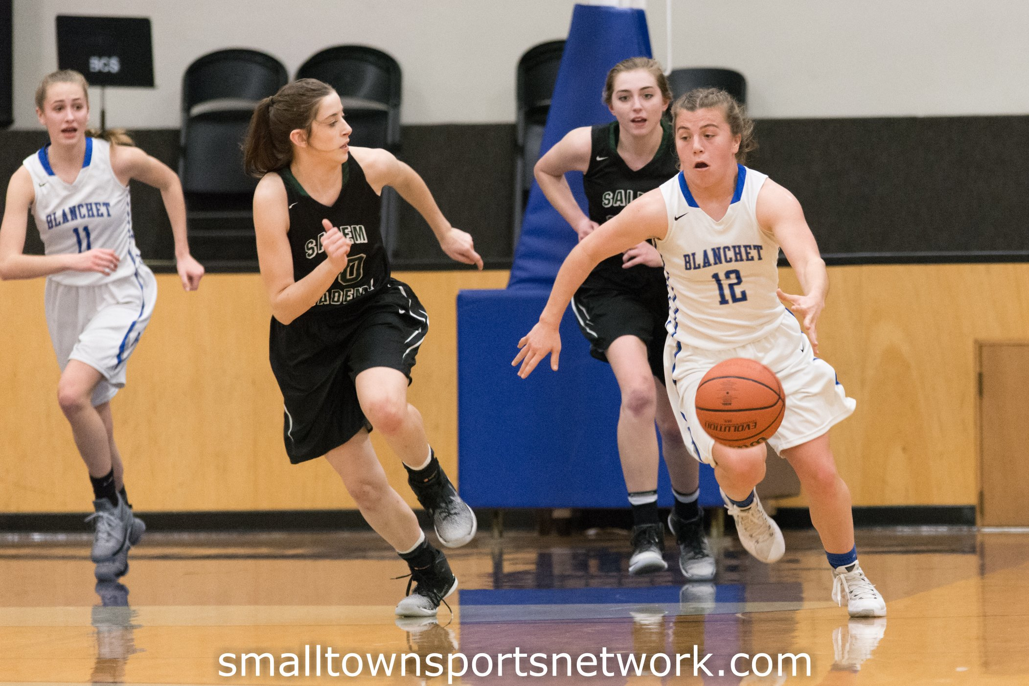 Salem Academy Improves to 17-1 With Win Over Blanchet Catholic