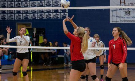 Blanchet Catholic Host Volleyball 3-Way