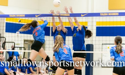 Toldeo Boomers Sweep Myrtle Point Bobcats