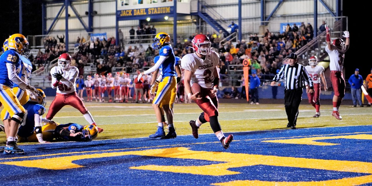 Coquille Red Devils Lock Up Title With Win Over Toledo Boomers